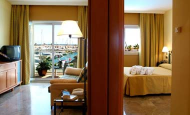 Habitacin del Hotel Port Sitges Resort